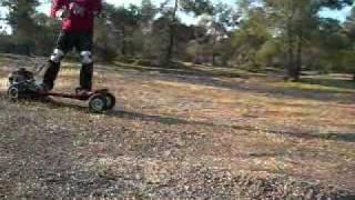 getlinkyoutube.com-Motorboard - Gas Skateboard, Longboard, Mountainboard,  Extreme Scooter Cyprus 2011