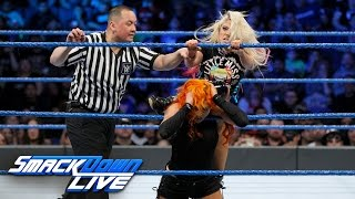 getlinkyoutube.com-Becky Lynch vs. Alexa Bliss - SmackDown Women's Championship Match: SmackDown LIVE, Feb. 21, 2017