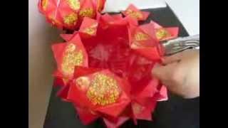 getlinkyoutube.com-好运橘   红包制作  DIY  Good Luck Orange from red packets