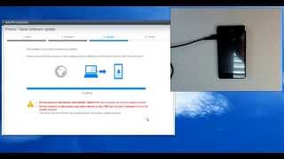 getlinkyoutube.com-Sony Xperia E1 D2005 hard reset by update software