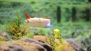 getlinkyoutube.com-U-Boot - A fascinating submarine trip with しんかい / Shinkai 6500 at Miniatur Wunderland Ocean