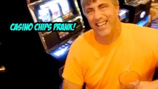 getlinkyoutube.com-Casino Chips PRANK!!