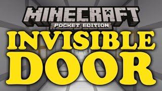 getlinkyoutube.com-✔ Invisible Door Trick - Minecraft PE