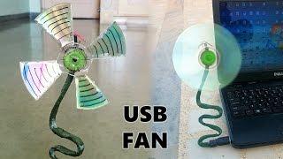 getlinkyoutube.com-How to Make a USB Fan using CD at Home - Easy Way