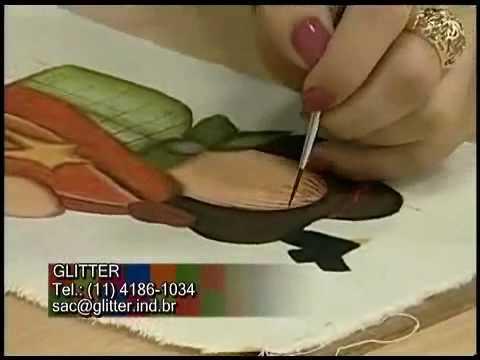 Atelie na TV 10-06-10 - Pintura Country em Tecido - Espantalho