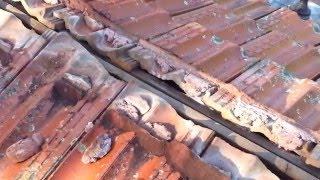 getlinkyoutube.com-Sydney western suburbs roofing repair - leaking ridge capping on a terracotta tile roof