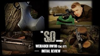 Weihrauch HW110 .177 Air Rifle Review UK - #1 - Initial Review