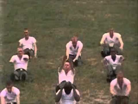US Army physical fitness exercises