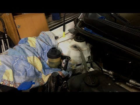 Замена жидкости ГУР Hyundai Solaris, KIA Rio