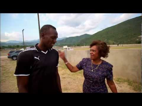 Usain Bolt - Meets The US Ambassador Pamela Bridgewater