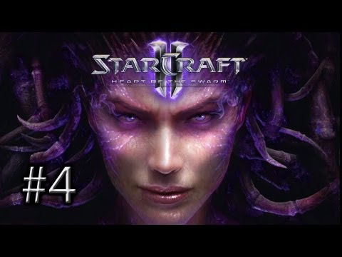 StarCraft 2 Heart of the Swarm: Mission 4