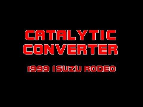 1999 Isuzu Rodeo - No Power - Replacing Right Catalytic Converter