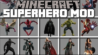 getlinkyoutube.com-Minecraft SUPERHERO MOD / BECOME HULK AND SMASH YOUR ENEMIES AWAY!! Minecraft