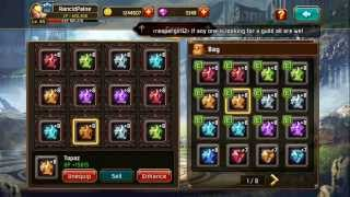 getlinkyoutube.com-Kritika: White Knights  How to get more CP ¬Getting the most out of your equipment¬