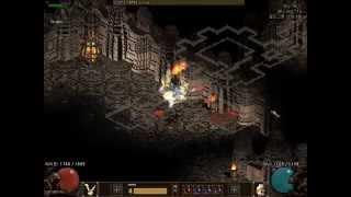 getlinkyoutube.com-[디아블로2] 3원소 소서 Diablo2 Sorceress