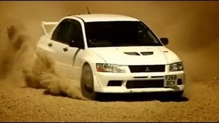 getlinkyoutube.com-Mitsubishi Evo vs British Army Part 1 - Top Gear - BBC