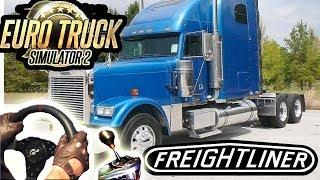 getlinkyoutube.com-Freightliner Classic - American Trucking (Euro Truck Simulator 2 mod) maniac driver! HD 1080p 2014.