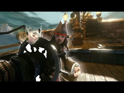 Disney Infinity - Pirates of the Caribbean Play Set Trailer