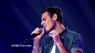getlinkyoutube.com-MBC The Voice -  عمر دين - All Of Me  - مرحلة الصوت وبس