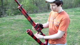 getlinkyoutube.com-Redneck Shoots Toilet with Homemade Air Cannon Part 1