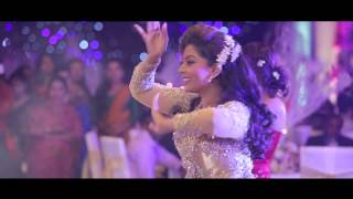 getlinkyoutube.com-Udari and Sangeeth Wedding Surprise Dance Act