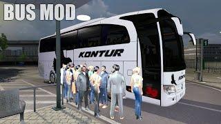 getlinkyoutube.com-ETS2 TRAVEGO BUS MOD (Euro Truck Simulator 2)