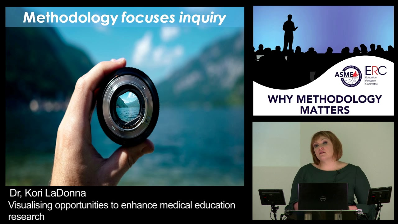 Dr. Kori LaDonna - Visualising Opportunities to Enhance Medical Education Research - please login to view