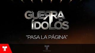 Guerra de Ídolos | Pasa La Página (Audio) by Alex Brizuela | Telemundo Novelas