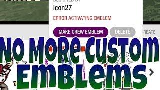 getlinkyoutube.com-GTA Online - No more Custom Crew Emblems