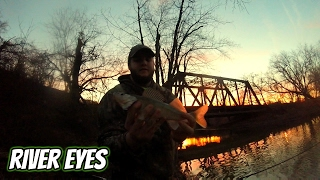 River Eyes - Insane River Fishing For Walleye and White Bass (Feat. Ryan, Rich, Bubby And Derek)