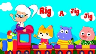 getlinkyoutube.com-rig a jig jig | nursery rhymes | baby songs | kindergarten songs