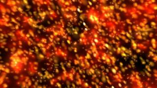 getlinkyoutube.com-10Min. 4K Orange Bokeh Sparkling Stars Illumination 2160p Motion Background