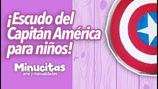 getlinkyoutube.com-Escudo del Capitan América para niños.