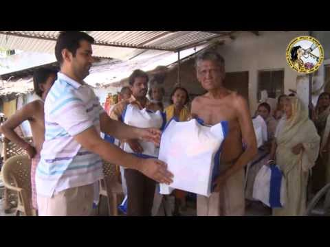 Distribution to Blind & Leprosy Ashram (30.4.13)