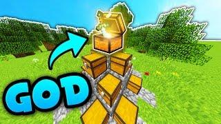MINECRAFT HUNGER GAMES GOD SWORD!