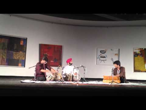 Jagjit Arora and Saptak Sharma play Tabla Duet at Triveni Kala Sangam New Delhi