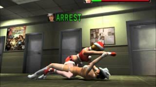 getlinkyoutube.com-Dynamite Deka (PS2) - Fight with female zako