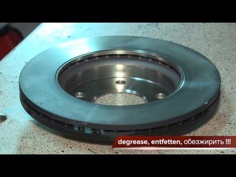 (MERCEDES A CLASS) Замена передних тормозных колодок и дисков. How to Replace Disc Brakes.