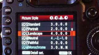 getlinkyoutube.com-Optimum Camera Settings for CANON