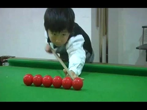 CHINA-SNOOKER PRODIGY (Hopes high for 4-year-old Chinese snooker prodigy)
