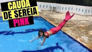 getlinkyoutube.com-CAUDA DE SEREIA PINK - GABRIELLA SARAIVAH