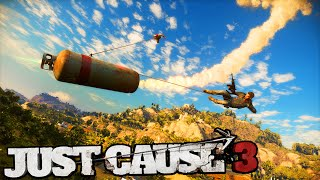 getlinkyoutube.com-JUST CAUSE 3 - GRAPPLE MODS & FUNNY MOMENTS! (Just Cause 3 Gameplay Walkthrough #1)