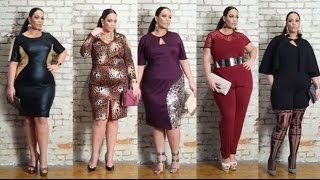 Monif C. Plus Sizes February 2015 Style Lookbook
