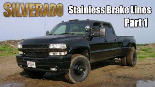 getlinkyoutube.com-02 Silverado Dually Stainless Brake Lines Part 1 of 2