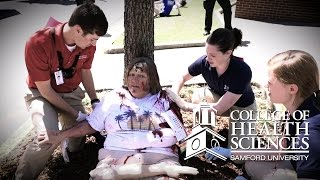 Simulated Emergency Response, Samford University College of Health Sciences