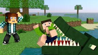 getlinkyoutube.com-Minecraft Survival Ep.170 - Morto Por Um Crocodilo !!