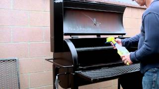 getlinkyoutube.com-How to Season your BBQ Pit - GatorPit
