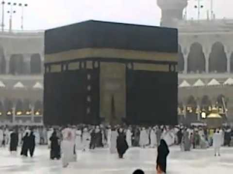 MAKKAH Rain  In HARAM SHARIF   2011