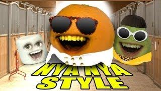 getlinkyoutube.com-Annoying Orange - ORANGE NYA NYA STYLE (GANGNAM STYLE PARODY)