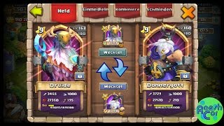 getlinkyoutube.com-Hero Trading - Helden tauschen   Castle Clash Schloss Konflikt ಠ Update Ideen   RaeshCor